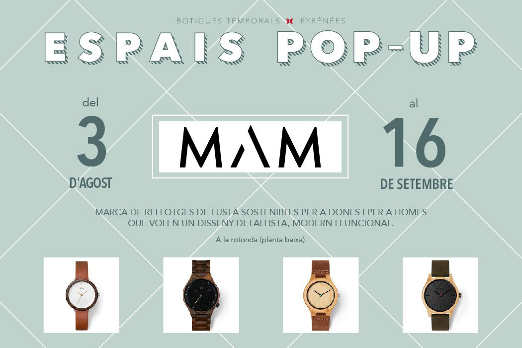 Espais Pop-up MAM