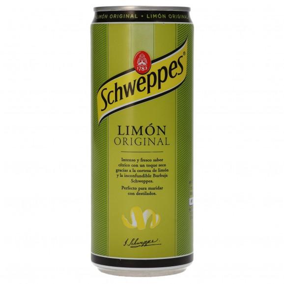 SCHWEPPES LLIMONA 33CL.