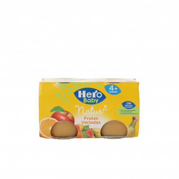 HERO BABY FRUITA VARIADA 2X130GR