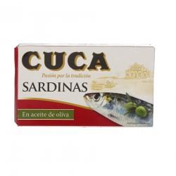 Sardines oli