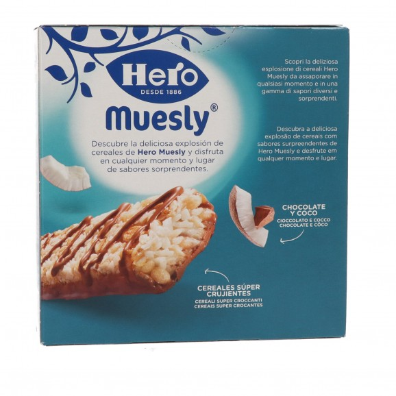HERO MUESLY COCO 6X25GR