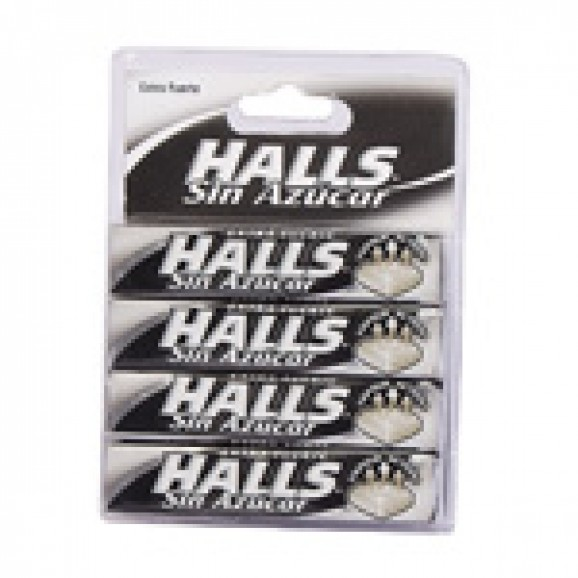 HALLS EXTRA FORT S/SUCRE 32G X 4U
