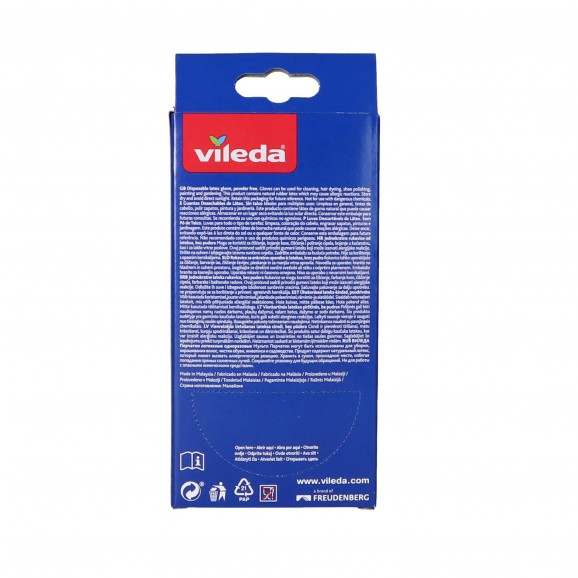 VILEDA MULTIPROTECT GUANTS P/M X10