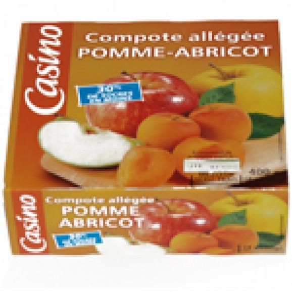 CASINO COMPOTA POMA-ALBERCOC X4