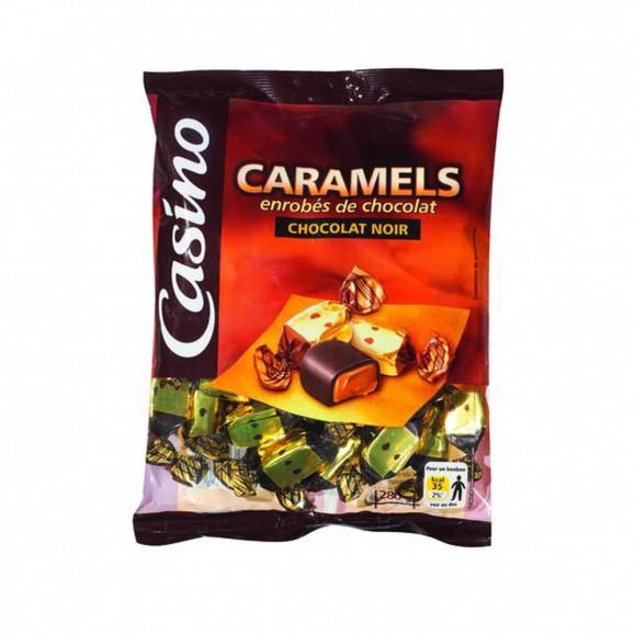 CARAMELS ENROB.CHOCO.280G CO