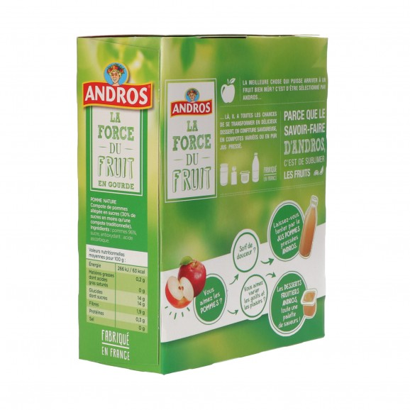 ANDROS COMP. POMA NATURAL X4