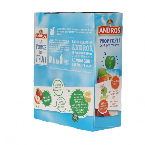 ANDROS COMP. S/S POMA NATURAL X 4