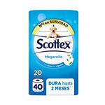 SCOTTEX HIGIENIC MEGAROTLLE X20
