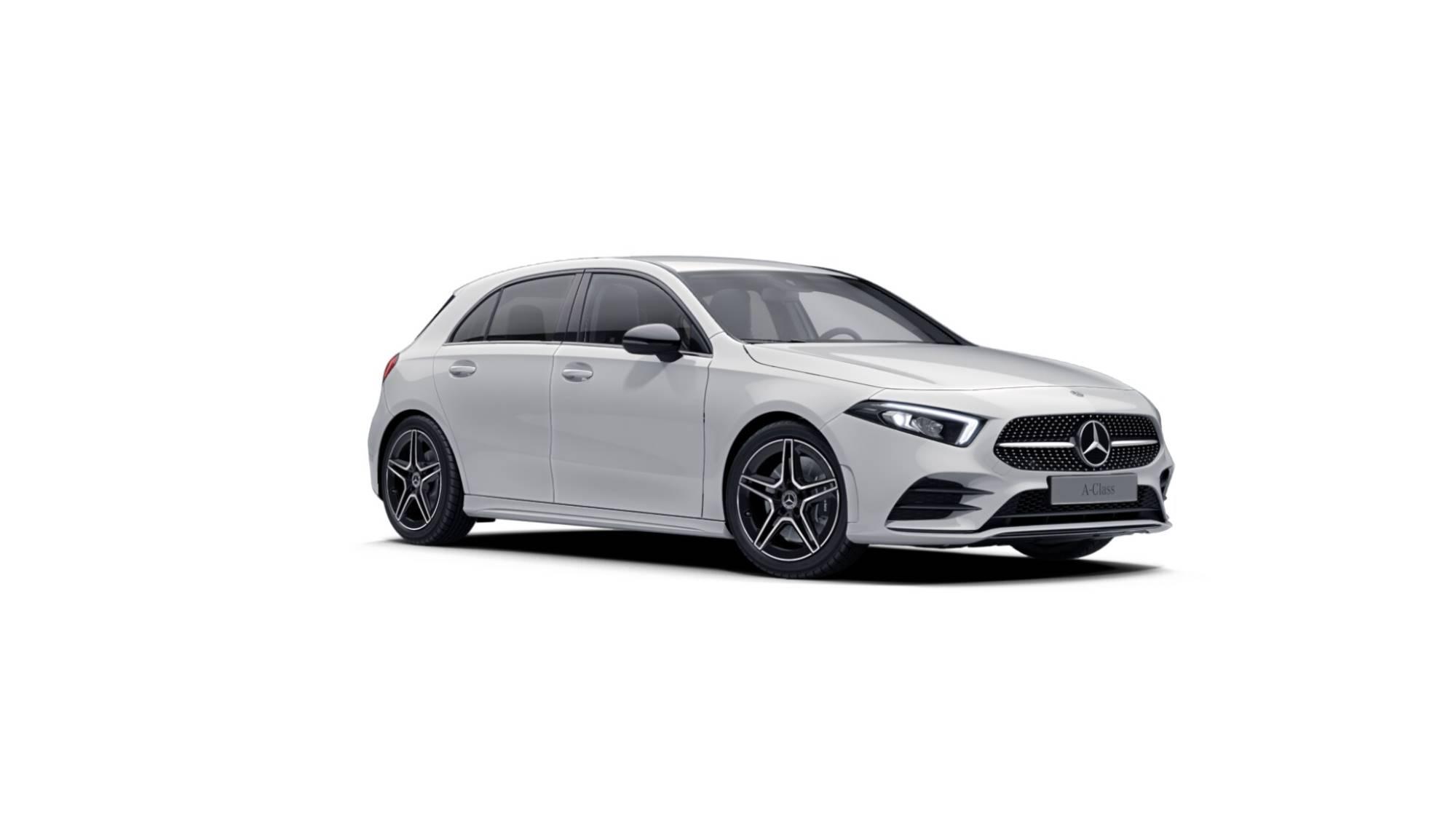Mercedes-Benz A250 4MATIC Compacto blanc
