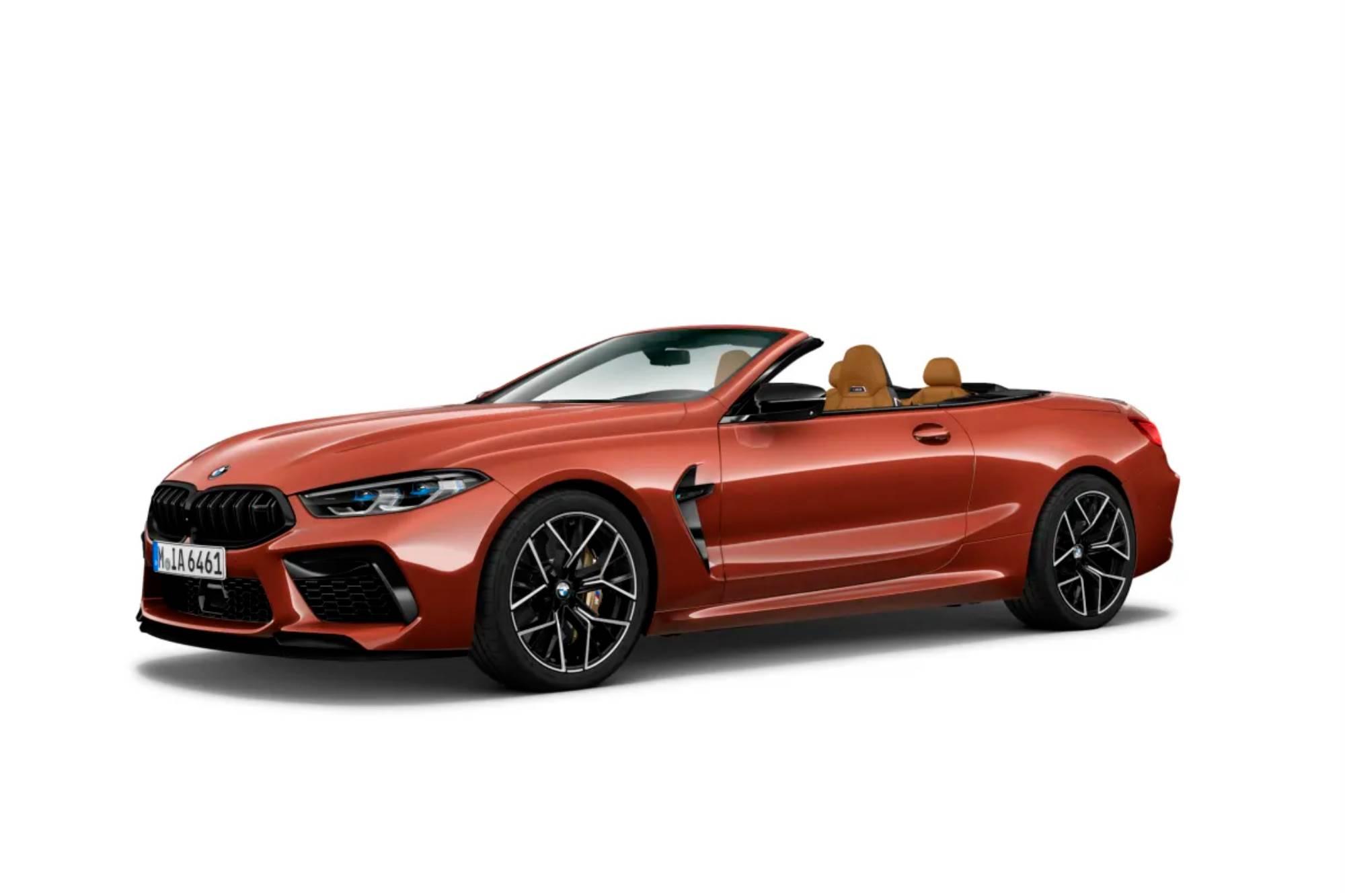 BMW M8 Cabrio Competition